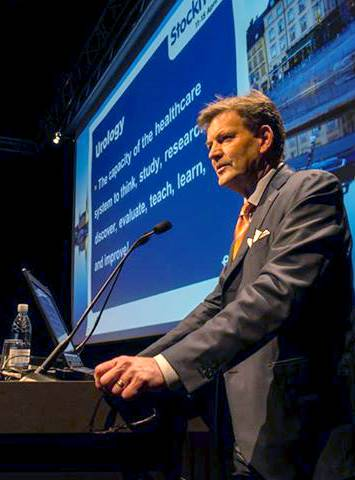 Конгресс Европейской ассоциации урологов. Профессор Андерс Абрахамсон покидает пост генерального секретаря ЕАУ