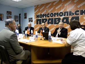 пресс-центре «Комсомольская правда» - Урал» прошел Круглый стол по теме: «Зачем мужчины играют в урологию? Мужское здоровье в вопросах и ответах».