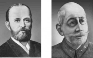 Ф.И.Синицын (1835-1907) и С.П.Федоров (1869-1936)