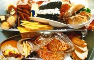 Жирная пища, как причина бесплодия!
