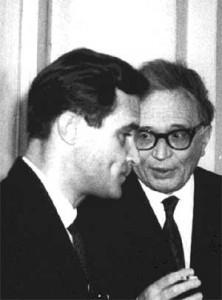 В.М.Державин и А.Е.Звягинцев