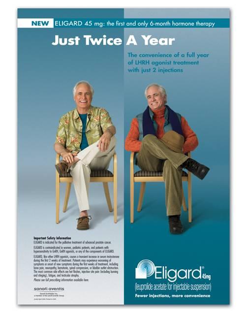 Применение препарата Элигард при лечении рака простаты