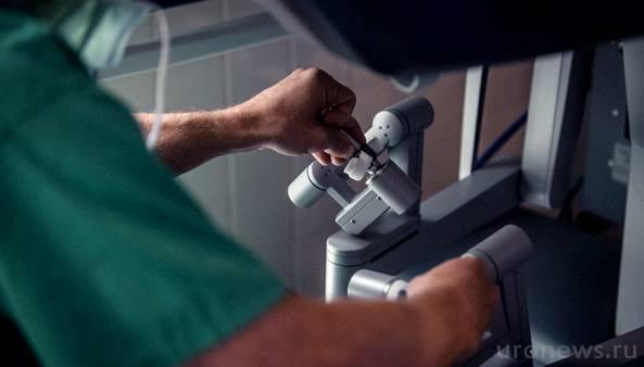 Робот-ассистированные операции при раке почки, раке простаты