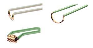 Рисунок № 1. Электроды для монополярного электровыпаривания.
