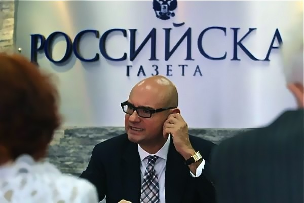 Дмитрий Юрьевич Пушкарь дал интервью «Российской газете»