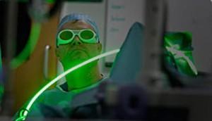Green Light Laser Зеленый лазер в урологии